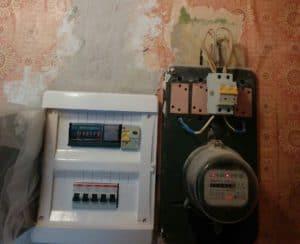 перенос электросчетчика